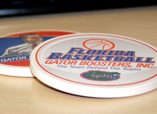 University of Florida Basketball Gator Boosters Coaster